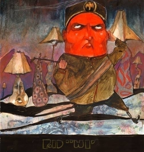Teeny Weeny Mussolini - illustration - sarajacksonjihad | ello