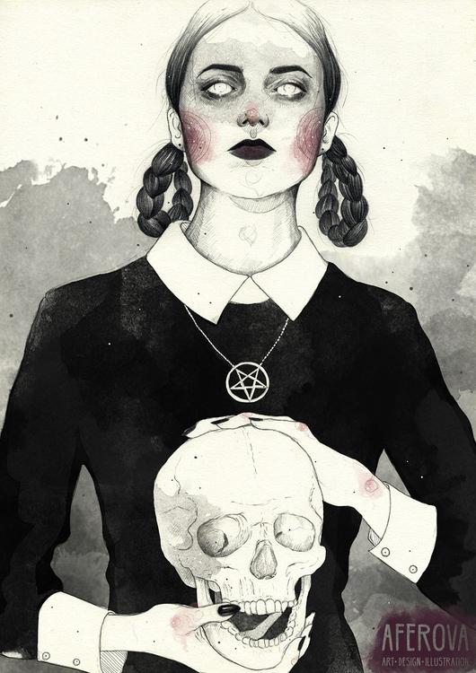 Elizabeth - illustration, characterdesign - aferova | ello