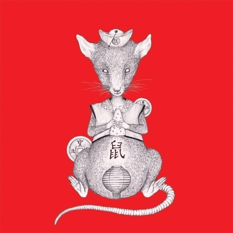 Rat - illustration, painting, conceptart - hardilim | ello