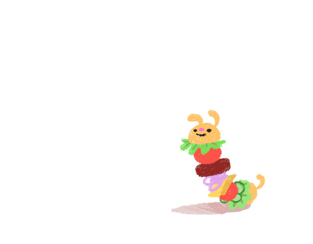 hamburger doggerpiller - dog, caterpillar - slunchy | ello