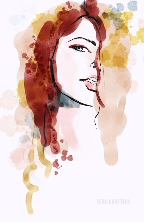 Watercolor ink brushes Corel Pa - leahgriffiths | ello