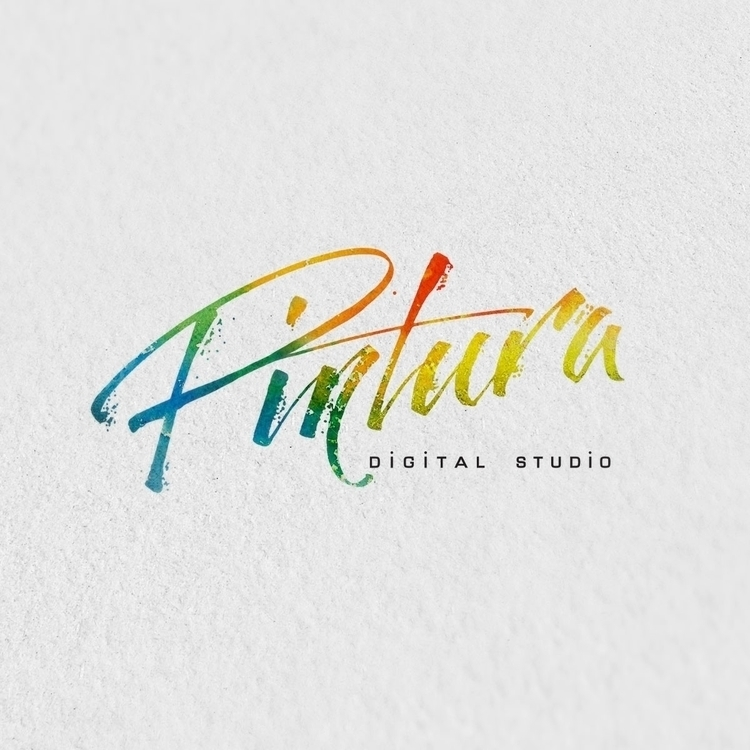 Calligraphy logo created image  - gibara | ello