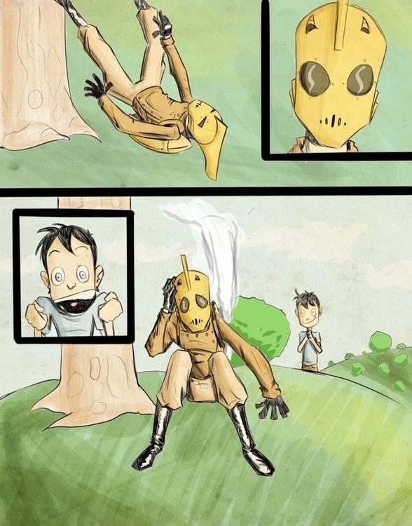 page3 - illustration, painting - ronaldcarmona   ello