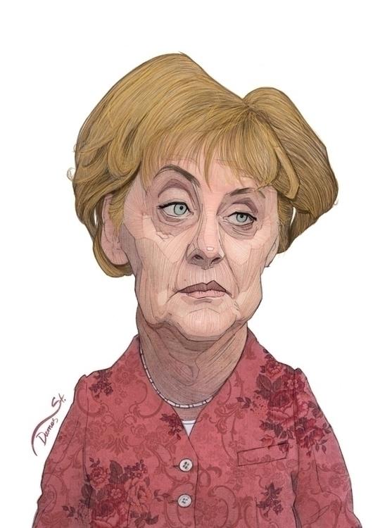 Merkel, political, politics, european - stdamos | ello