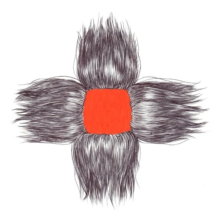 Hair Hole - illustration, hair - thecreativefish   ello