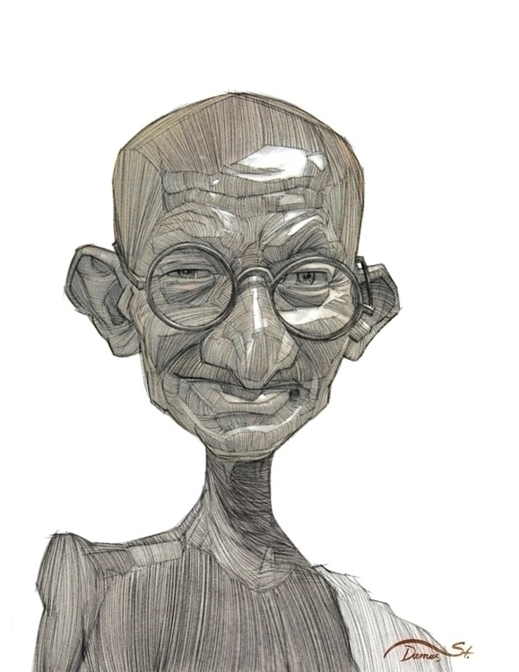 Gandhi, political, political - stdamos | ello