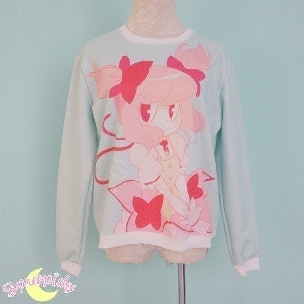 Madoka sweater spreepicky store - princessmisery | ello