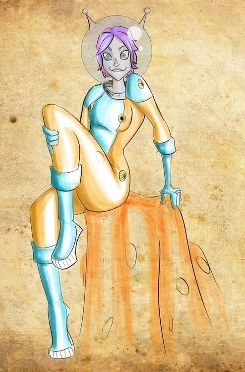 pin - illustration, painting, characterdesign - ronaldcarmona   ello