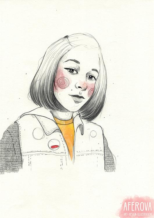 Sentaco - illustration, drawing - aferova | ello