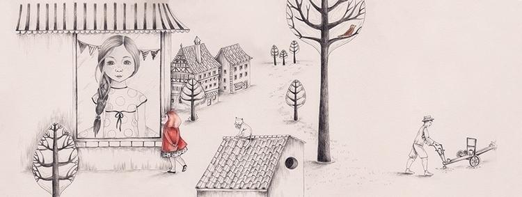 Illustration book Temptation ri - isabelvalfigueira | ello