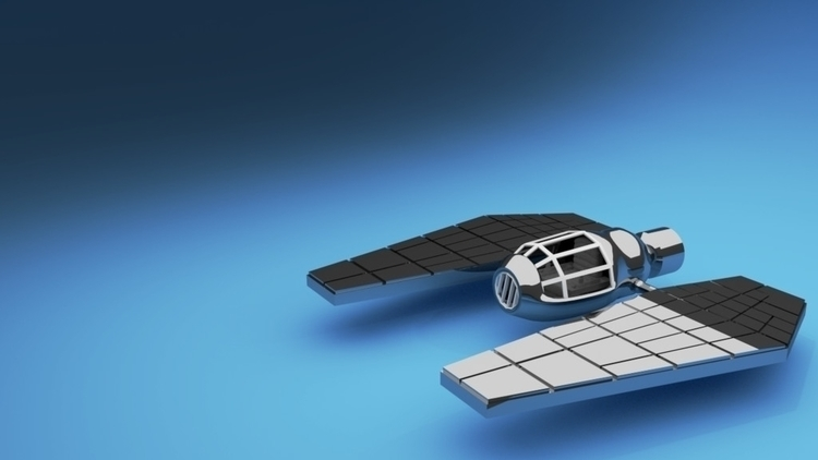 Personal Space Ship - 3d, conceptart - alimayoarango | ello