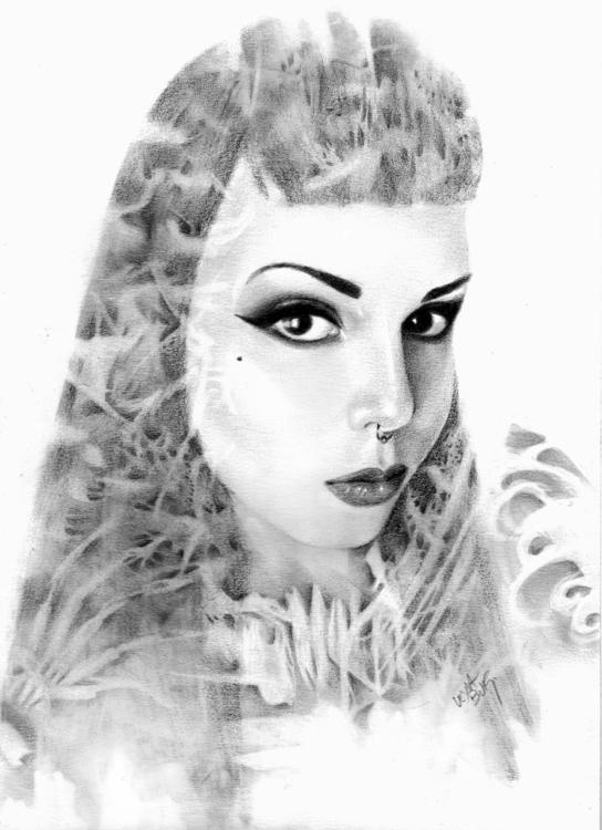 Ghosts Pieces | 2015 - illustration - leylabuk | ello