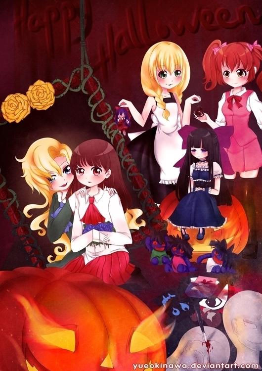 Halloween year - drawing, halloween - yueokinawa | ello