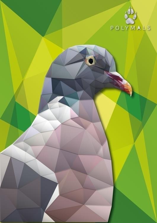 POLYMALS - Dove - lowpoly, lowpoly - marcostamayow | ello