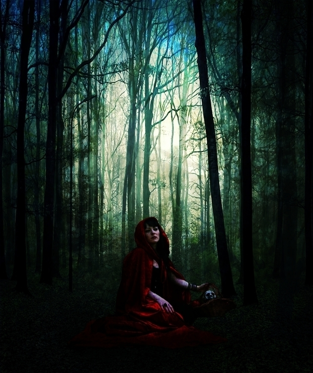 Red Riding Hood - mattepainting - jesscarey | ello