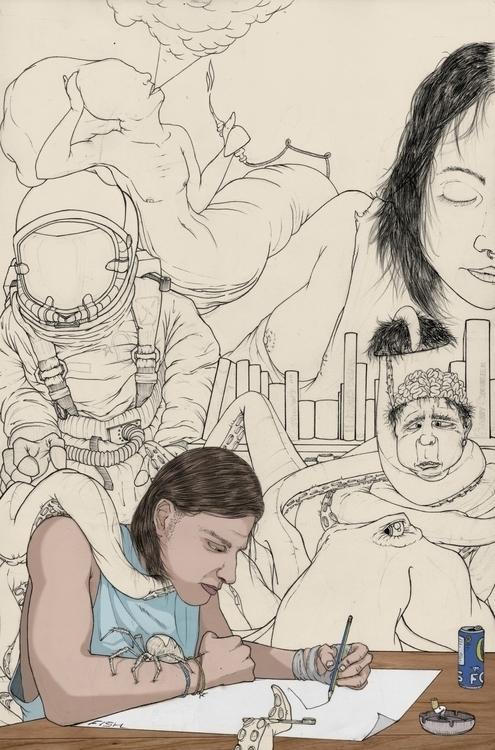 imagination - illustration - thecreativefish | ello