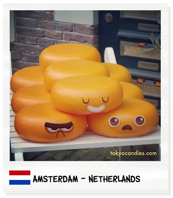 amsterdam, cheese, characterdesign - tokyocandies-1186   ello