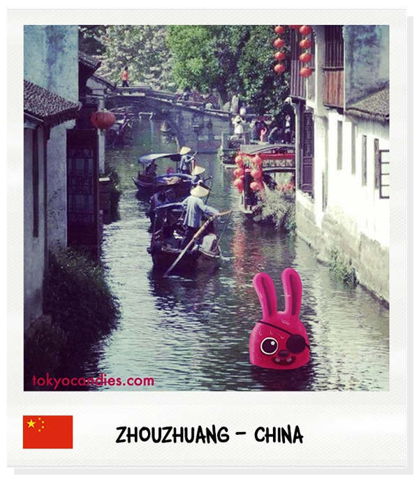 china, bunny, water, boat, lantern - tokyocandies-1186 | ello
