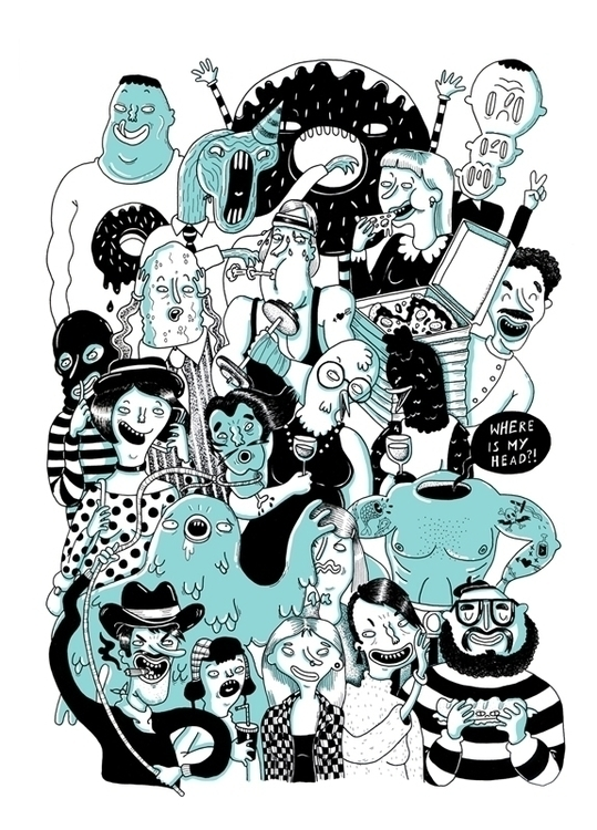 characterdesign, cartoon, handdrawn - sarahmatuszewski | ello