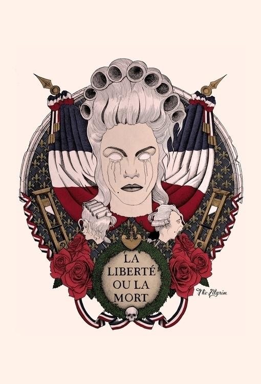 × La Liberté ou Mort portrait q - thepilgrim-9803 | ello
