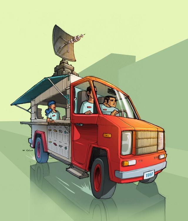 Spy Food Truck - ahmedgamal-3942 | ello