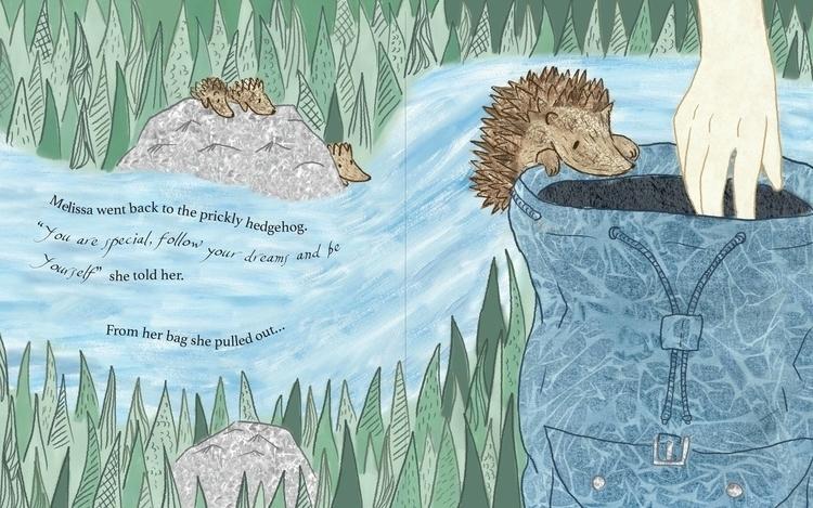 spread book - illustration, children'sillustration - laurabuckland | ello