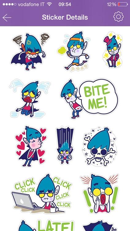vampire, chat, stickers, emoji - tokyocandies-1186 | ello