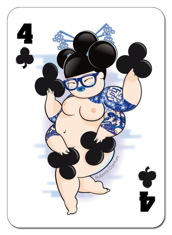 chubby, girl, naked, playingcards - tokyocandies-1186 | ello