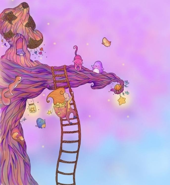 illustration, #childrensillustration - cisforcolette | ello