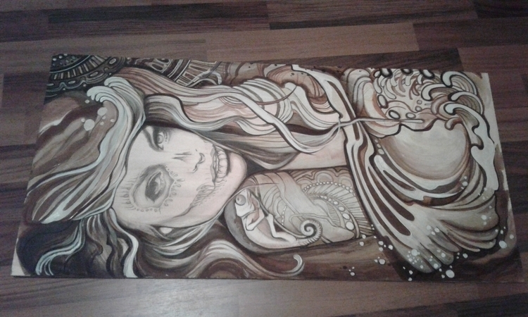 Favorite paintings Wood - painting - froilainfriederieke | ello