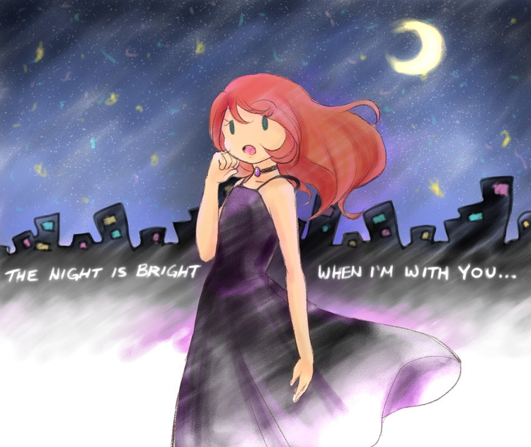 night bright - illustration, youngadult - aelita_6225 | ello