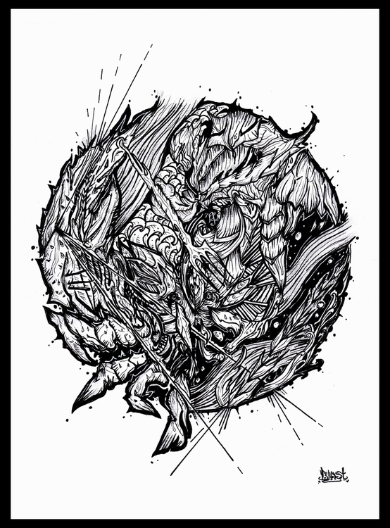 Cancer - illustration, drawing, zodiac - blast-1381 | ello
