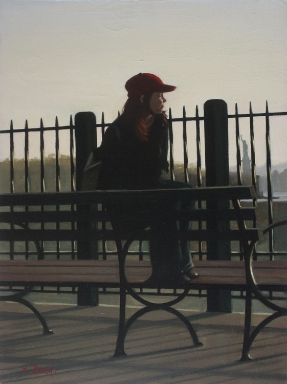 Starting 24 18 Oil Canvas - painting - abetko76 | ello
