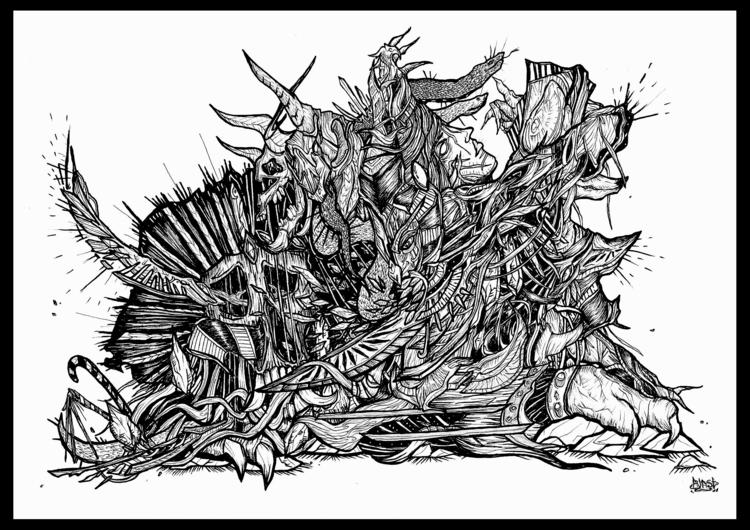 Legacy - illustration, drawing, conceptart - blast-1381   ello