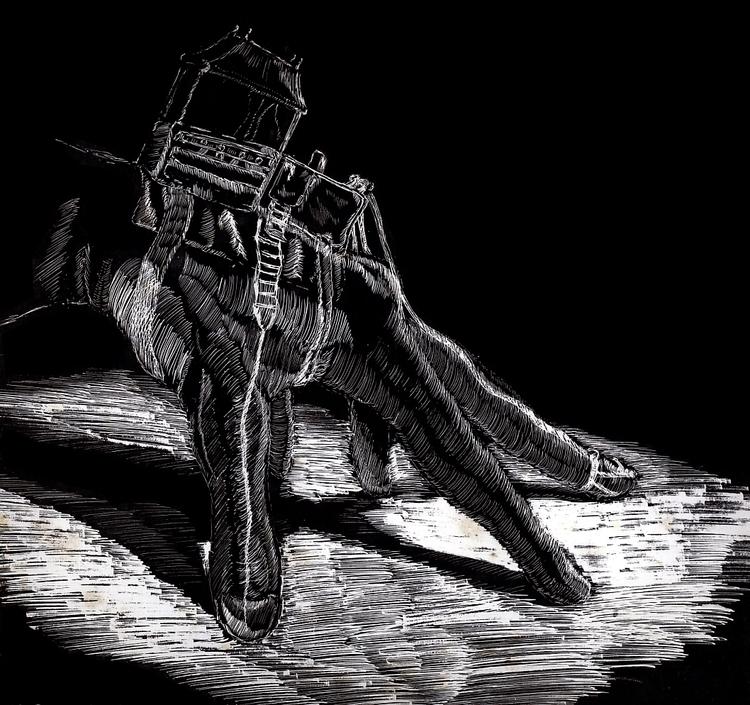 Scratchboard - plbtoonist | ello