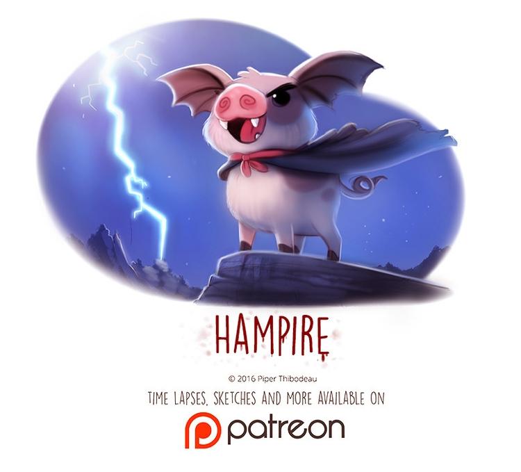 Day 1439. Hampire - piperthibodeau | ello