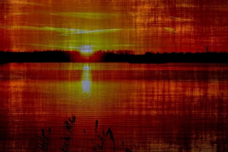 Sunset - photography, sunset, yellow - paulilangbein | ello