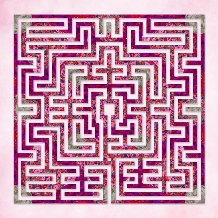 St Omer - Sweet Rose labyrinth  - nancyaurandhumpf | ello