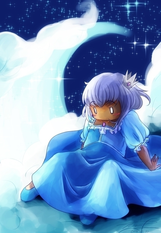 Moon Princess fights evil moonl - aelita_6225 | ello