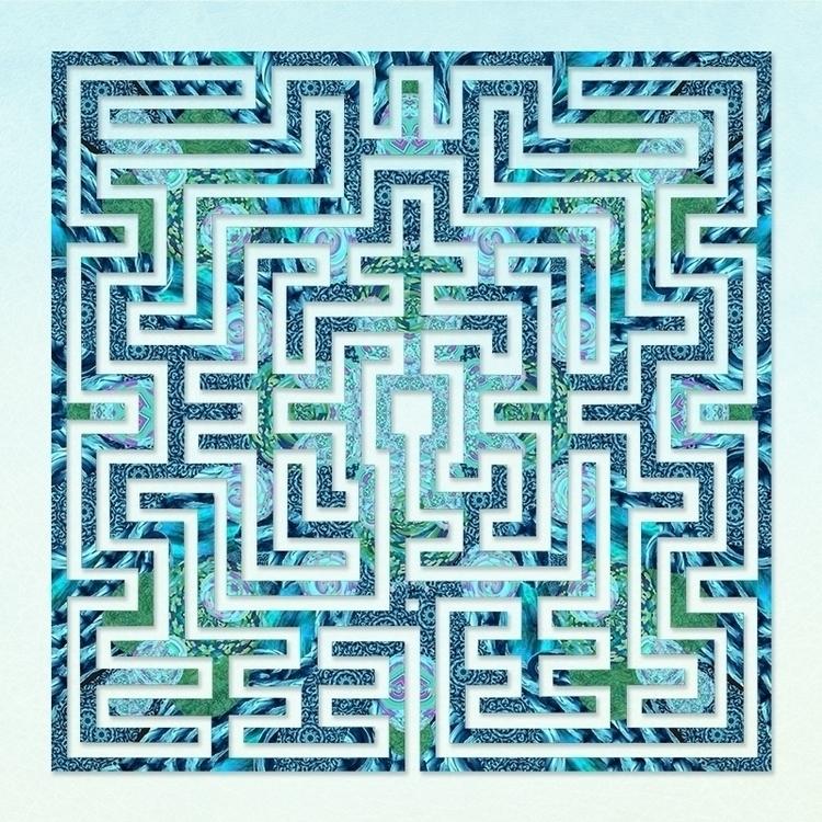 St Omer Blues labyrinth design  - nancyaurandhumpf   ello