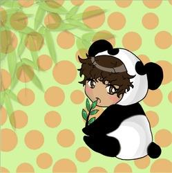 Panda Boy - panda, anime, animeart - jessicaredmond   ello