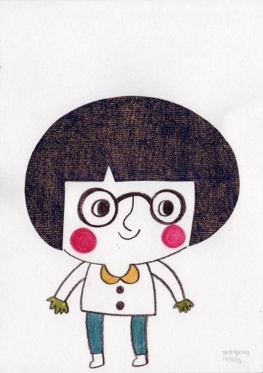 illustration, children'sillustration - ruedeejulla | ello