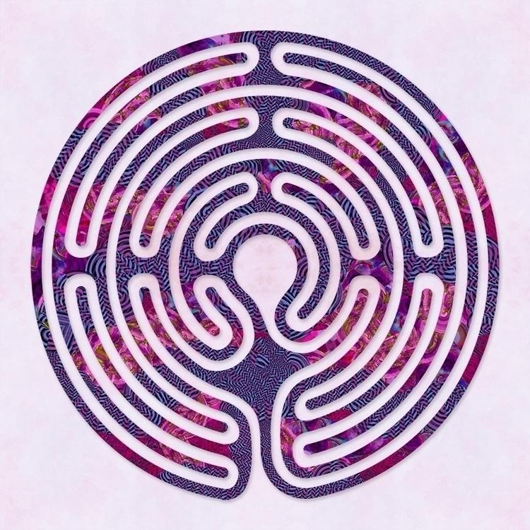 illustration, labyrinth, illustrator - nancyaurandhumpf   ello
