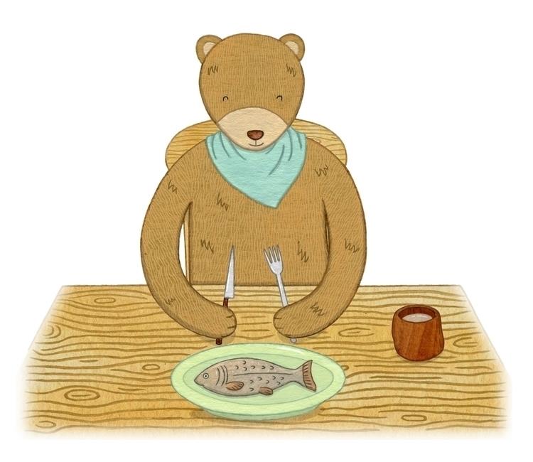 Aminya bear - character picture - lucyfarfort | ello