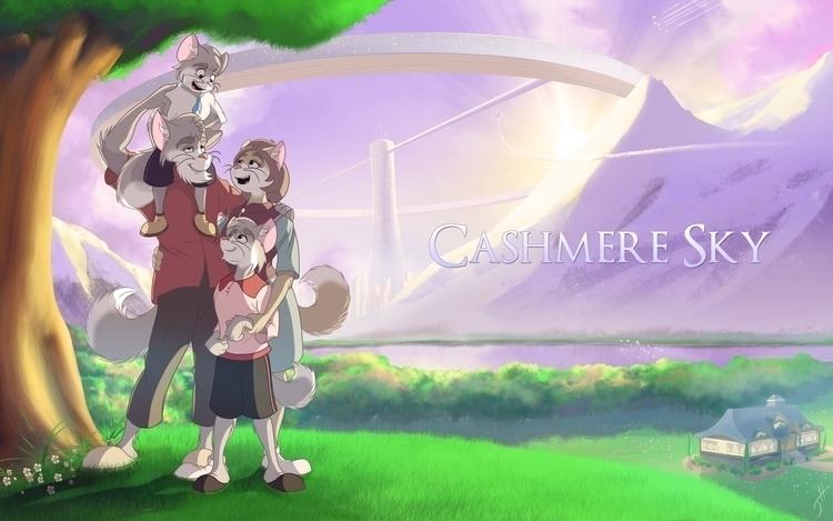 Cashmere Sky - illustration, cartoon - fxscreamer | ello