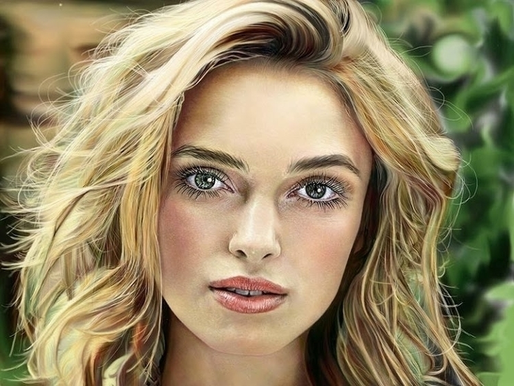 Lutien - illustration, painting - veronicakokoreva | ello
