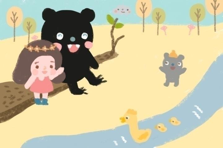 children'sillustration, children'sbook - ruedeejulla | ello