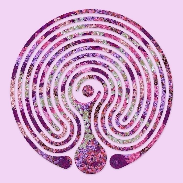 Baltic Purple Floral - Wheel st - nancyaurandhumpf | ello