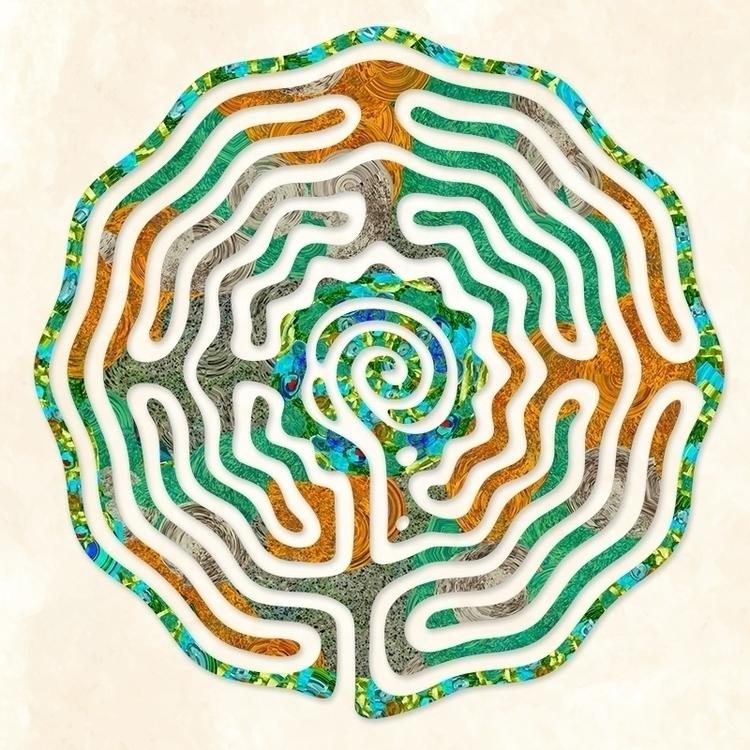 Fleur: Good Earth - labyrinth d - nancyaurandhumpf | ello