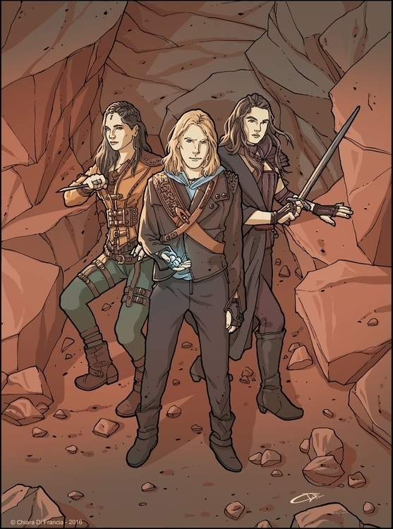 Shannara Chronicles Art Commiss - chiaradifrancia | ello